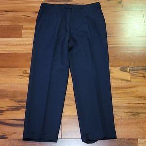 Ermenegildo Zegna Pleated Wool Trousers